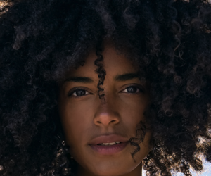 beauty, curly hair, and kinky curly hair image