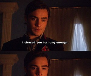 quotes, chuck bass, and gossip girl image