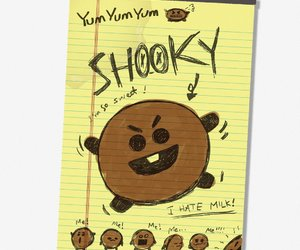 bts, bt21, and shooky image