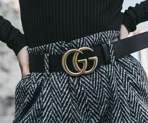 fashion, gucci, and black image