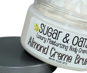 body butter cream, natural body butter, and sugar & oats image