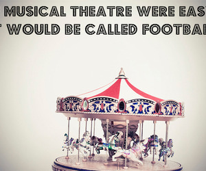 act, carrousel, and musical theatre image