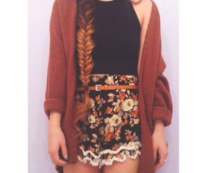 fall, indie, and girl image