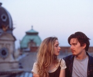 before sunrise, movie, and ethan hawke image