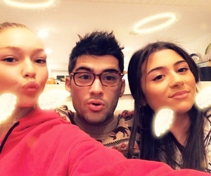 zayn malik, gigi hadid, and couple image