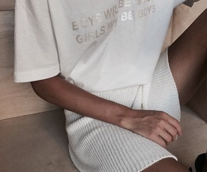 aesthetic, clothes, and white image
