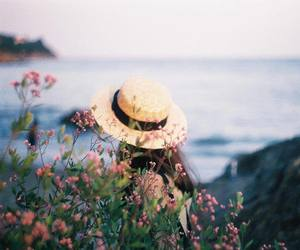 Film Photography, hat, and nature image