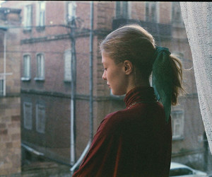 girl, aesthetic, and film image