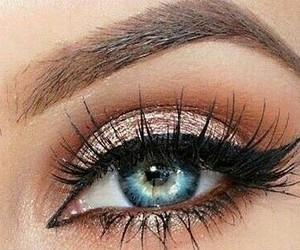 eye, makeup, and fashion image