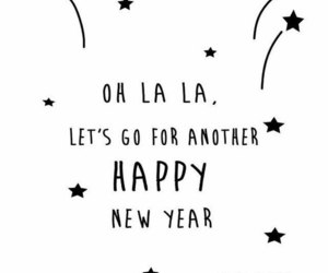 happy new year and let's go image