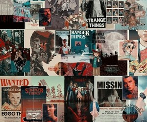stranger, things, and wallpaper image