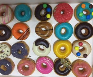 delicious, donut, and yummy image