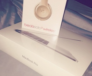 apple, beats, and beautiful image