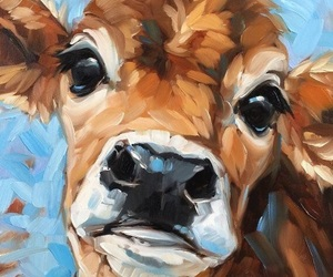 acrylic paint, animal, and art image