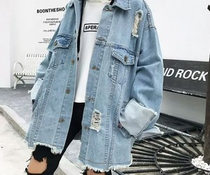 jeans, street, and style image