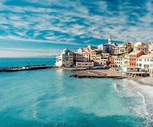 beach, italy, and europe image