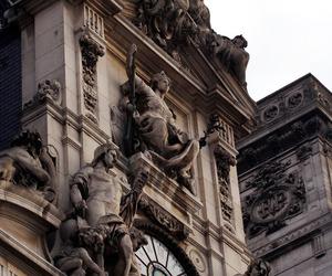 hotel de ville, paris, and horloge monumentale image