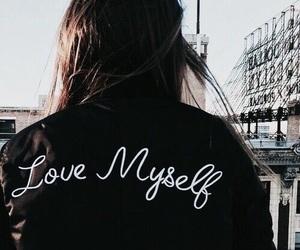 love myself, jacket, and myself image