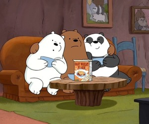 cartoon, we bare bears, and cartoon network image