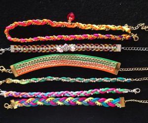 bracelet, bracelets, and estilo image