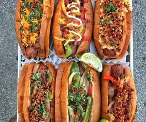 hot dog, food, and foodie image