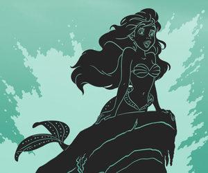 aladdin, cinderella, and ariel image