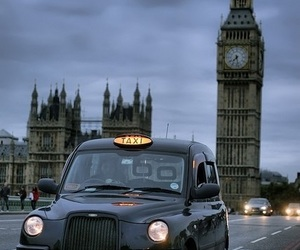 london, car, and england image