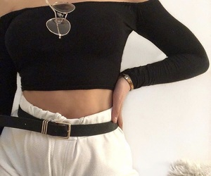 apparel, belt, and body image