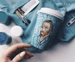 aesthetic, lovely, and van gogh image