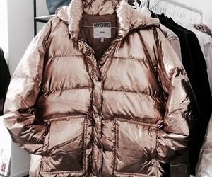 fashion, gold, and jacket image