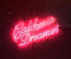 california, Dream, and neonlights image