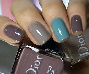 dior, fashion, and nail polish image