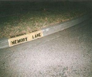 memories, grunge, and memory lane image