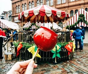 apple, fair, and caramel image