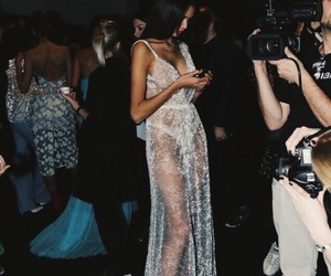 dress, model, and beauty image