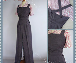 etsy, gabardine, and pin up rockabilly image