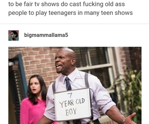 funny, tumblr, and terry crews image