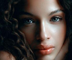 eyes, beauty, and lips image