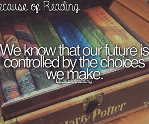future and because of reading... image