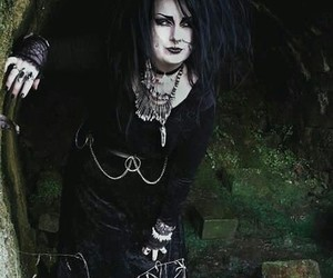 black, gothic, and grunge image