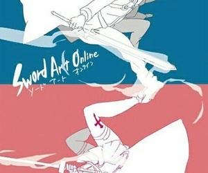 asuna, sword art online, and kirito image