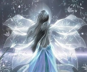 angel, fairy, and wings image