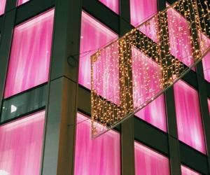 lights, pink, and secret image