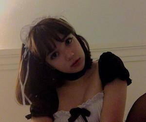 anime, maid, and cute image