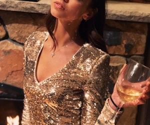 champagne, new year, and zhenya katava image