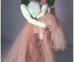 fro, tutu, and baby pictures image