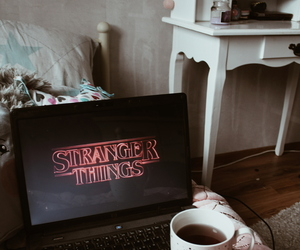 blogger, coffee, and girl image