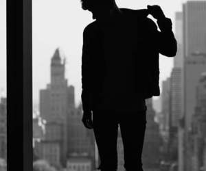 photography, connor franta, and black image