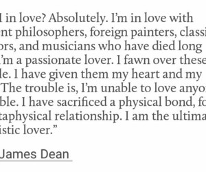 james dean, life, and quote image