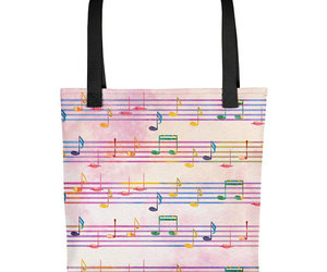 etsy, music lover gift, and musical note image